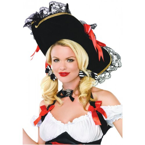 Swashbuckler Hat Costume (Ladies Swashbuckler Hat)