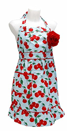 Jessie Steele Kitchen Cherry Courtney Apron