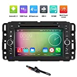 TOCADO Quad Core 7'' Android 5.1 Car Stereo DVD Player GPS Navigation Bluetooth with Car Backup Camera for General GMC Chevrolet Chevy Buick 2007 2008 2009 2010 2011 2012, 2009 CHEVROLET EXPRESS VAN