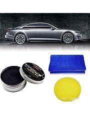 Car Wax Crystal Plating Set Car Coating Wax Hard Glossy Carnauba Wax , Car Scratches Repair Wax for Car Scratches Fast Repair Coating Care