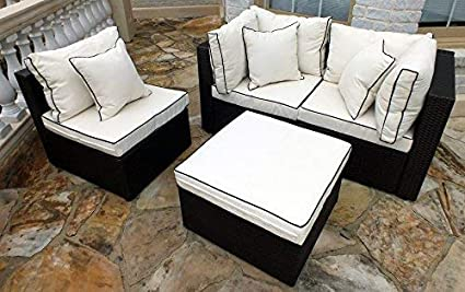 Prime Jj International F8102 Wicker Sofa Set Beige Ncnpc Chair Design For Home Ncnpcorg