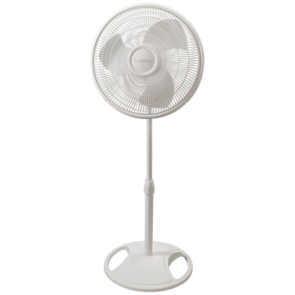 Lasko Fans 2520C Oscillating Stand Fan White 16C