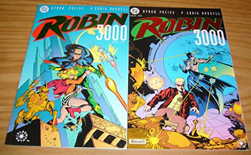 Robin 3000 #1-2 VF/NM; DC complete series