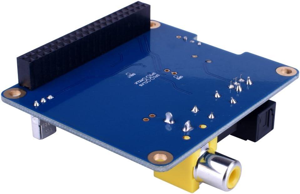 kuman SC07 Raspberry Pi HiFi Digi Digital Sound Card I2S SPDIF Optical Fiber for Raspberry pi 3 2 Model B B+