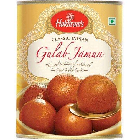 Haldirams Gulab Jamun - 4 Pack - 1 Kgs