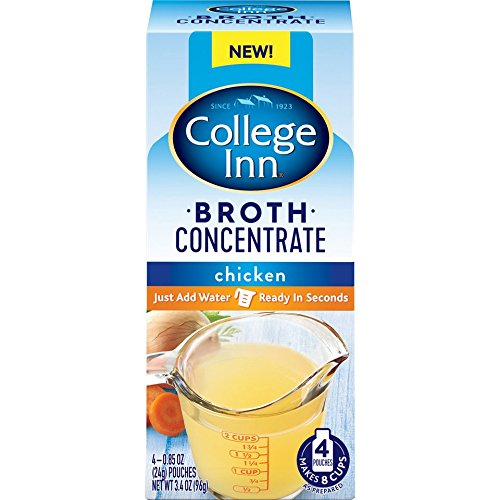 College Inn Chicken Broth Concentrate Pouches, 0.85-Ounce, 4-Pouches, Pack of 6 (24 -