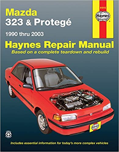 Mazda Protegé Automotive Repair Manual Haynes - Mazda car repair