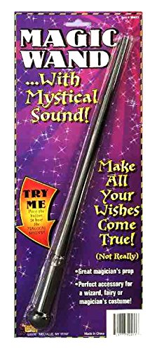 Forum Novelties Magic Wand Costume Accessory with Mystical Sound Effect (Fairy Magic Wand)
