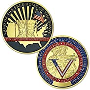BHealthLife US Army Veteran Challenge Coin Gift Thank You for Your Service