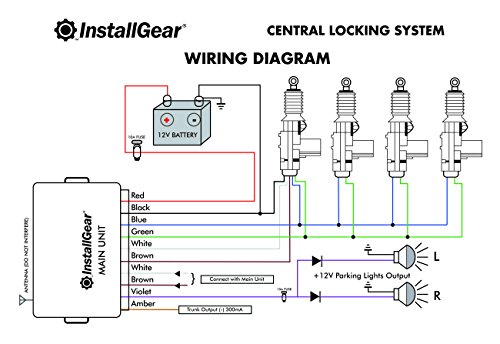 remote control door lock wiring diagram for car daily update Door Lock Actuator Wiring Diagram