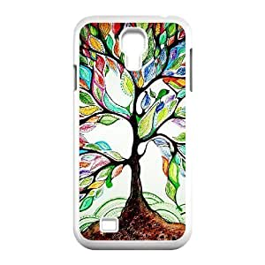 Custom Colorful Case for SamSung Galaxy S4 I9500, Love Tree Cover Case - HL-R657895