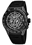 Tag Heuer Carrera Calibre Heuer 01 Automatic Chronograph Ceramic Bezel Men's Watch CAR2A90.FT6071