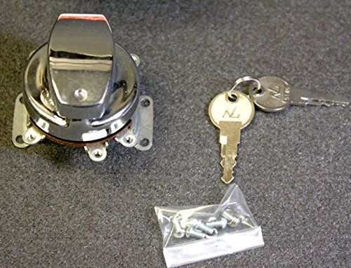 Harley Davidson #71501-73 6 terminal Ignition Switch 1973+ Big Twins Motorcycle (Twin Motors Big)