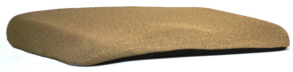 Black Mc Carty/'s ERGO COMFORT RIDER-BLK Mc Cartys Sacro-Ease Ergo Comfort Rider Seat Cushion