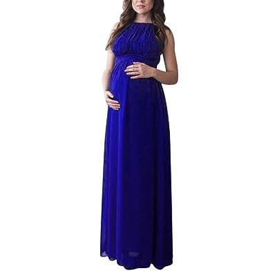 Kleider für Schwangere, FEITONG Damen Umstandskleid Chiffon Kleid ...