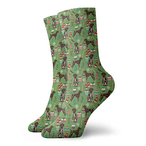 - Knee High Compression Socks - German Shorthaired Pointer Dogs - Best for Athletic, Edema, Varicose Veins, Travel