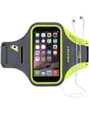 1617 EU Running Armband, Waterproof Design, Great for Running, Biking, Hiking With Your iPhone, Samsung, HUAWEI and Other Smart Phones