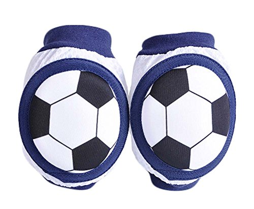 Creative Baby Summer Crawling Protector Knee Elbow Pads Soccer Ball (Costume Duos)