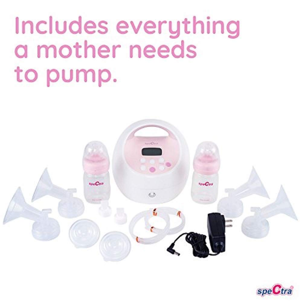 Hospital Strength S2 Plus Premier Electric Breast Pump Spectra Baby USA Double//Single