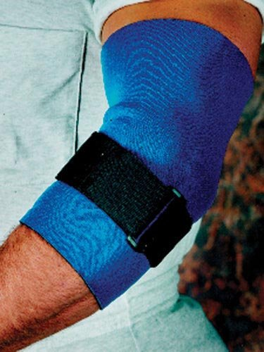 Scott Specialties Sport-Aid Elbow Sleeve - SA9035 BLU MDEA - Medium, 1 Each / Each