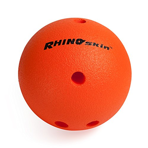 Champion Sports Foam Bowling Ball: Rhino Skin Soft Ball for Training & Kids (Rhino Skin Bowling Ball)