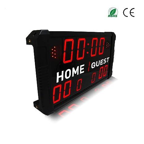 Control Remoto Marcador Deportivo, LED Electrónico ...