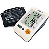 LotFancy Automatic Digital Arm Blood Pressure Monitor, Irregular Heartbeat Detector, 4 Inch LCD, 30x4 Memories for 4 Users, WHO Indicator, FDA Approved (Medium Cuff 8.6-14.2 inch)