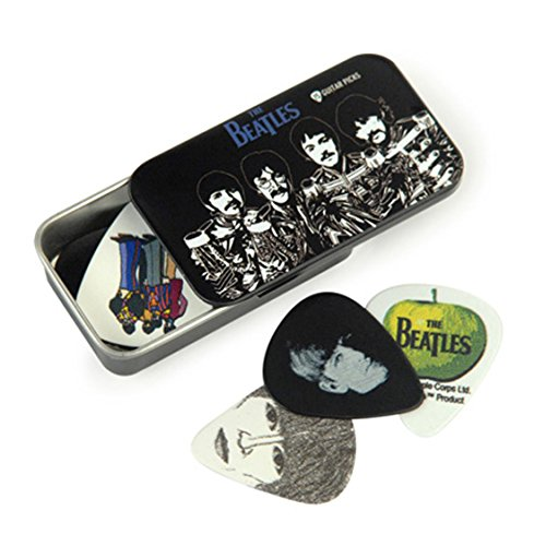 Planet Waves The Beatles Signature Pick-Tin, Sgt. Peppers, Medium 1CAB4-15BT3 (x15) w/Bonus LuluRock Pick (x1) 019954961237