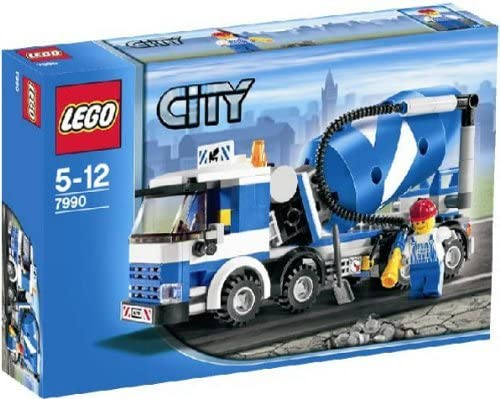 LEGO City Cement Mixer (Set #7990)