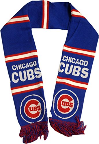 Chicago Cubs Scarf 2 Sided 11107