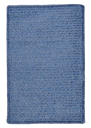 Simple Chenille Rug, 2 by 3-Feet, Petal - Petal Mills Colonial