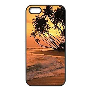 Beautiful Maldives DIY Cover Case with Hard Shell Protection for Iphone 5,5S Case lxa#470435