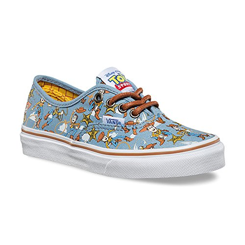 a9183293e0 Vans Boys Authentic Shoes Woody Blue Disney Pixar Toy Story Kids Youth  (13.5)
