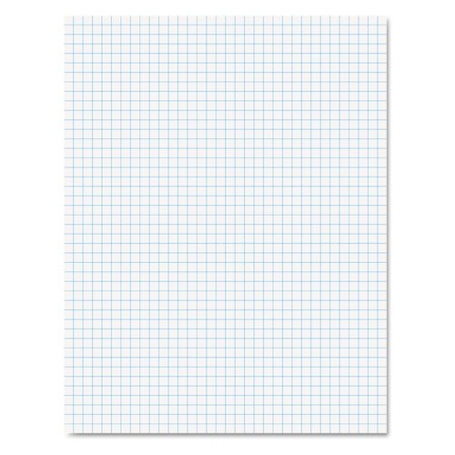 Wholesale CASE of 25 - Esselte 2-Sided Quadrille Pads-2-Sided Quadrille Pads,Ruled 5x5Sq/Inch,50 Sht,8-1/2''x11'',WE