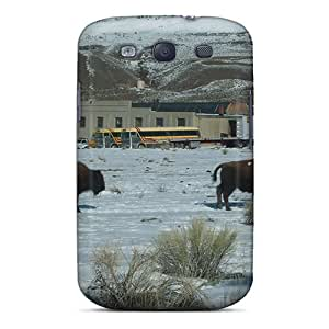Hot Snap-on Bison 2 Hard Cover Case/ Protective Case For Galaxy S3