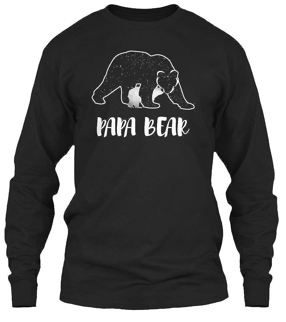 Papa Bear Best Fathers Day Tshirt 6 1oz Tee