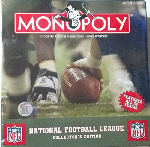 Hasbro Monopoly NFL National Football League Collector's (Football Collectors Edition Monopoly)