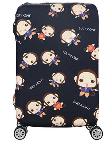 Suitcase Cover Spandex Cute Luggage Protector for Men Women Kids 24/28/30/32 Inch Monkey - Groupon Uk Stores