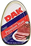 plumrose canned ham - Dak, Premium Ham, 16oz Can (Pack of 10)