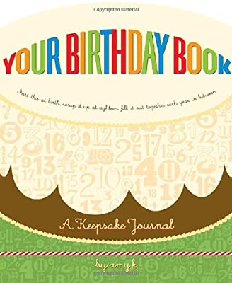 Your Birthday Book A Keepsake Journal from Potter Style