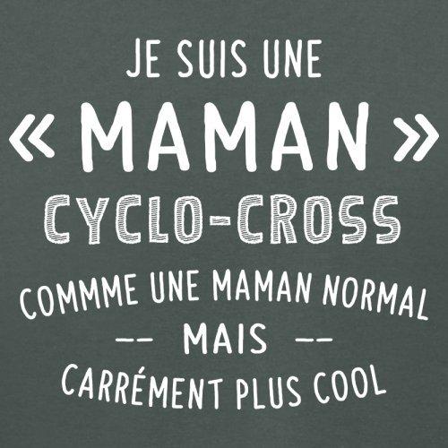 une maman normal cyclocross - Femme T-Shirt - Gris foncé - S
