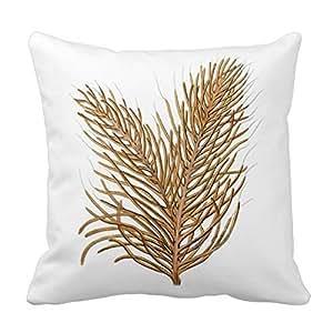 Generic Custom Sea Coral Nautical Decorative Pillow no.8 Cotton Decorative Pillowcase 18inch Throw Pillowcase Cushion Cover Twin Sides