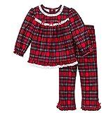 Girls Christmas Pajamas - Infant or Toddler Pant Set (18 months)