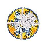 Le Cadeaux Benidorm Appetizer Plate (Set of 4), Multicolor