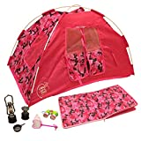 Newly Redesigned Camping Set for 18 inch Dolls - Super Cute Doll Camping Set - Light...