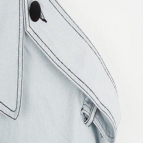 Denim Jacket Casual Women Jean Chaquetas Mujer Jaquetas Short Sleeve Coat Feminino Veste Femme Jeans Jacket L180 at Amazon Womens Coats Shop