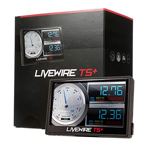 SCT Performance - 5015P - Livewire TS+ Performance Tuner and Monitor - Ford Preloaded and Custom Tuning (Best Tuner For 7.3 Powerstroke)