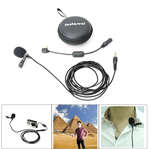 Stereo Condenser Microphone for GoPro Hero 3 3+ 4 Mic Cable Adapter - 6