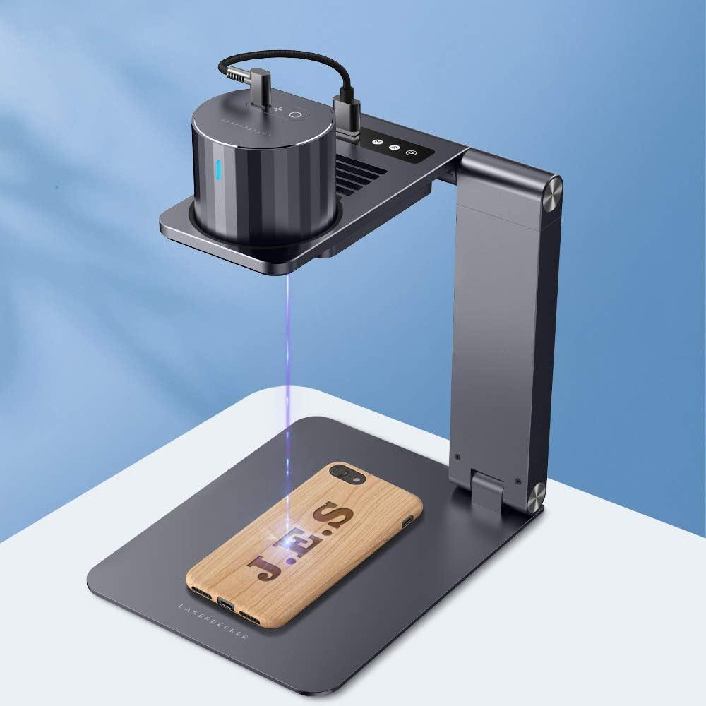 レーザー彫刻機 家庭用 Laserpecker pro 小型レーザー刻印機 DIY道具 コンパクト 軽量 加工機 初心者 プレゼント 刻印