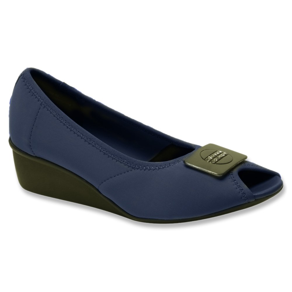 Ros Hommerson Women's Eloise Lightweight Casual Flats B00TT7GTU0 7.5 N US|Navy Stretch